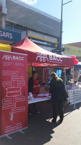 Michelle McCarthy - BACC Stall